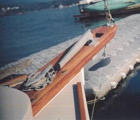 Here's the bowsprit…